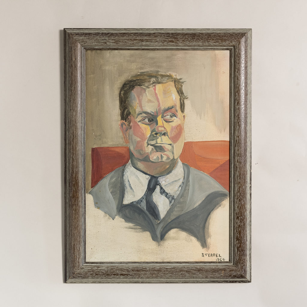Portrait of a gentleman by Sheila Steafel