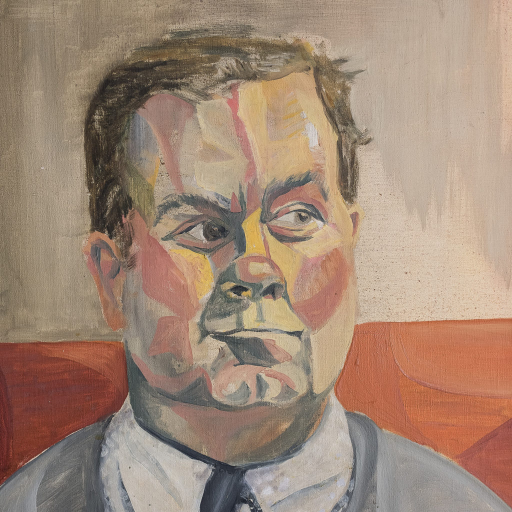 Portrait of a gentleman by Sheila Steafel-140332