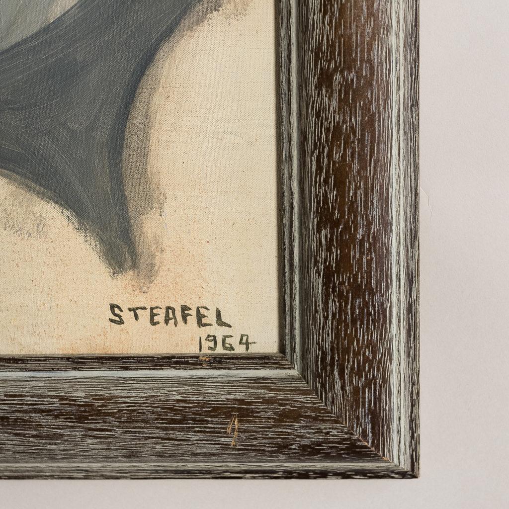 Portrait of a gentleman by Sheila Steafel-140335