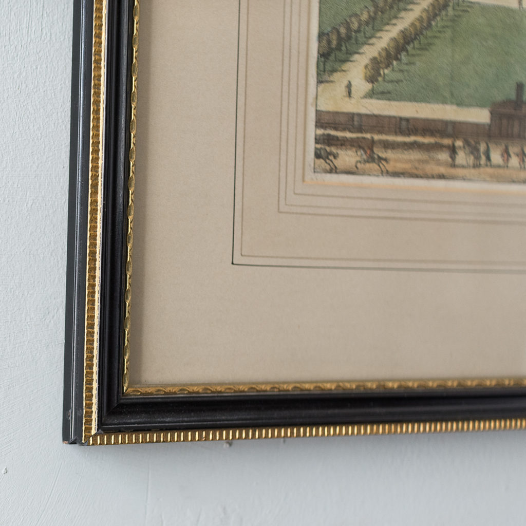 Framed in a Hogarth moulding