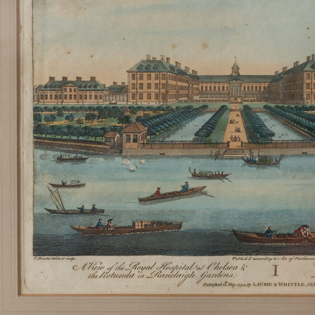 Engraved by T. Bowles published by Laurie and Whittle.