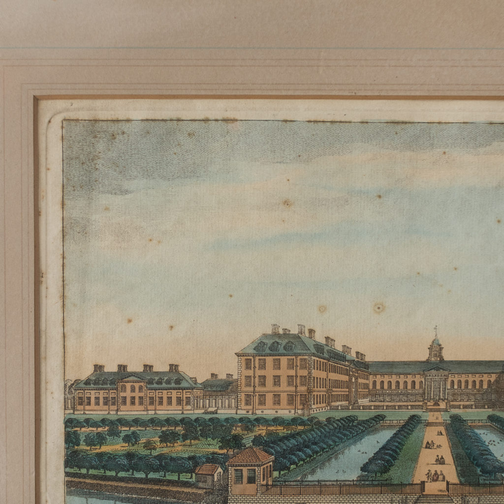 A View of the Royal Hospital in Chelsea & the Rotunda in Ranelaigh Gardens-140251