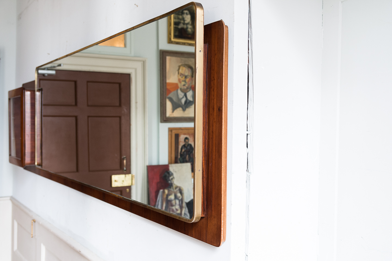 Large Italian 1950s hall mirror,-140565