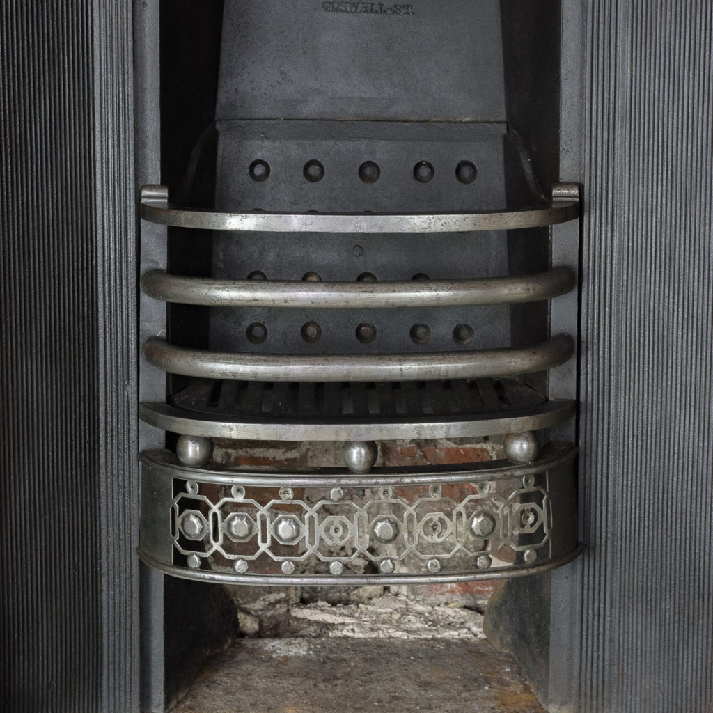 George IV cast iron register grate,-140588