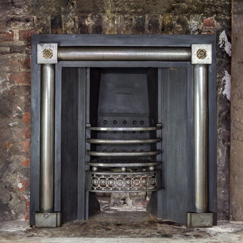 George IV cast iron register grate,