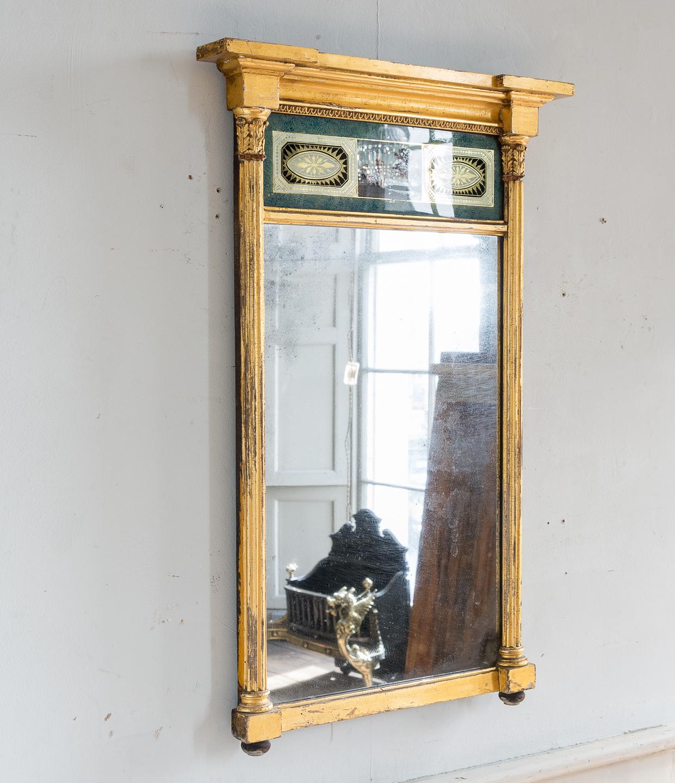 Georgian giltwood pier glass, -140611