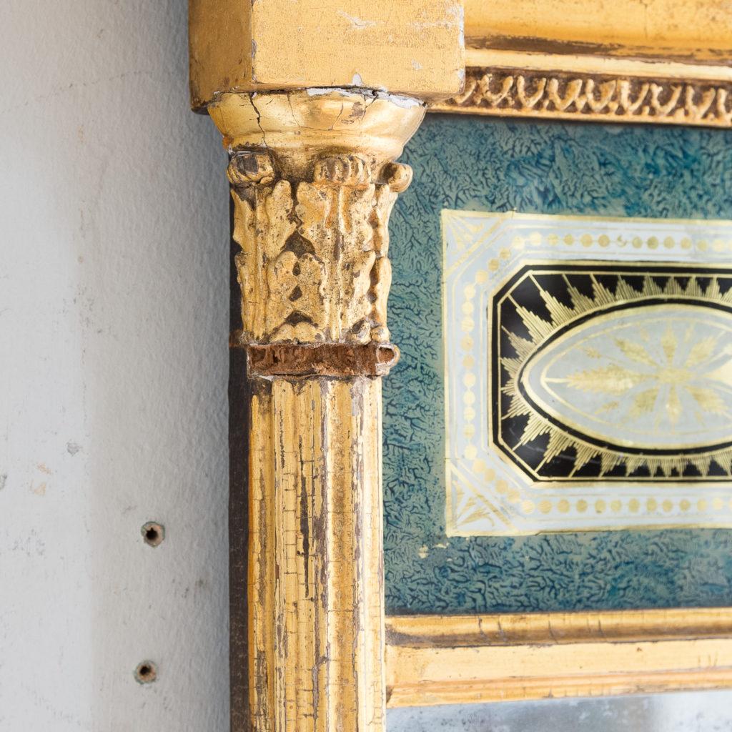 Georgian giltwood pier glass, -140614