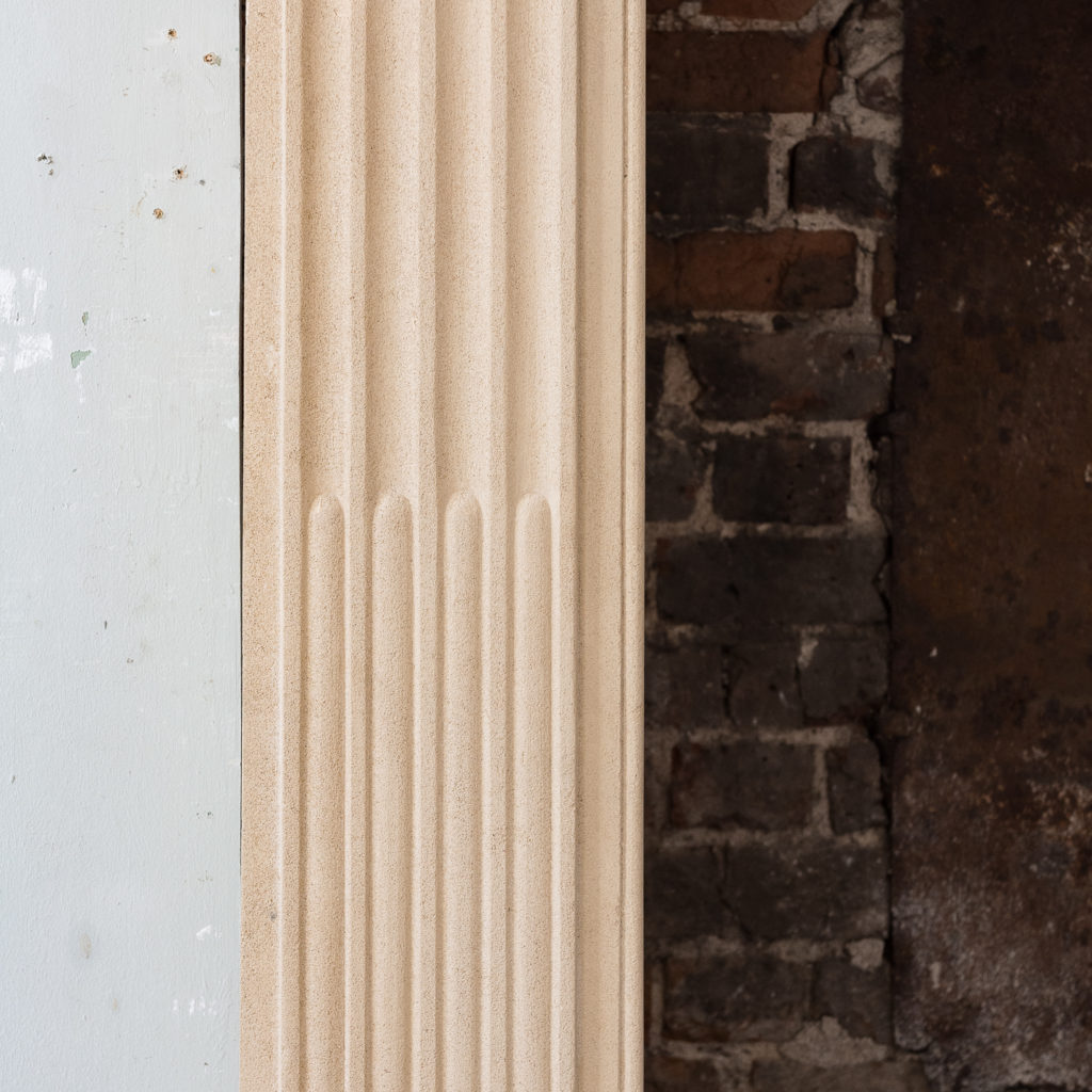 stop-fluted jambs