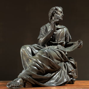 Aristotle bronze