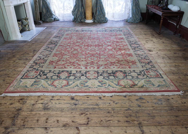 Large Persian Tabriz rug