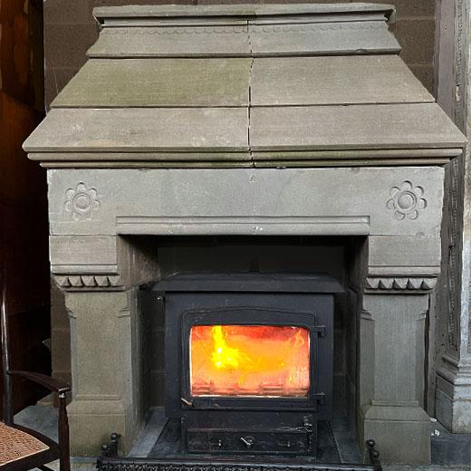 Leiper chimneypiece