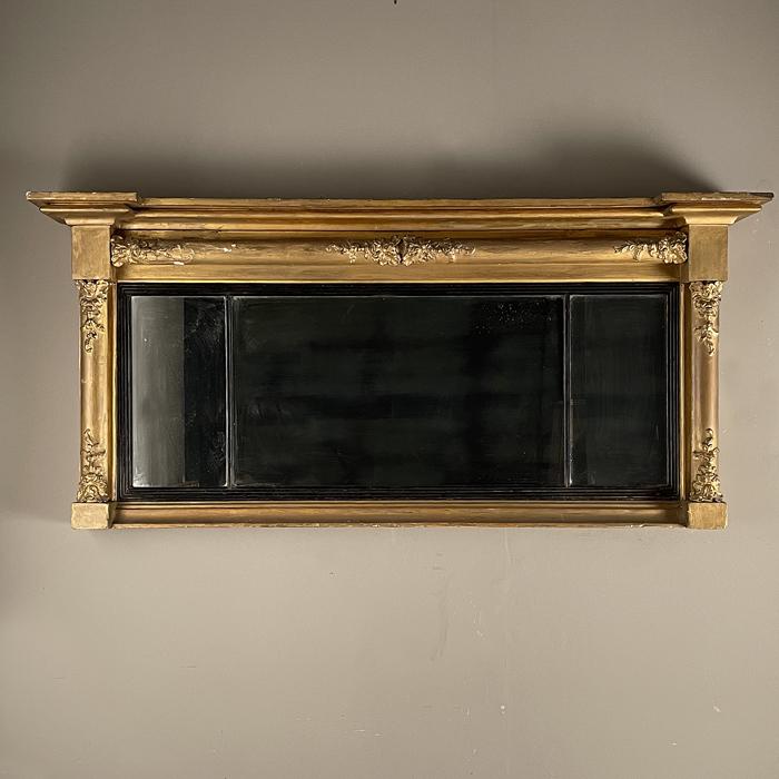 Regency overmantel mirror