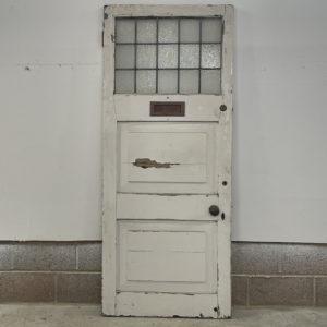 glazed front door