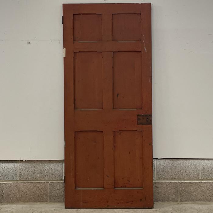 Oxford pattern door
