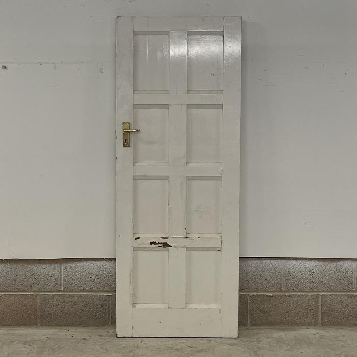 eight panelled door