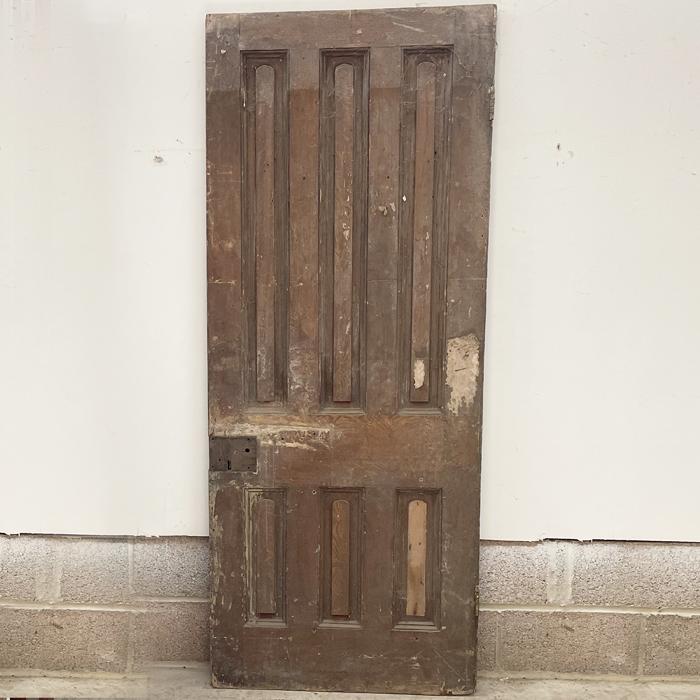 six panelled door