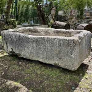 stone trough