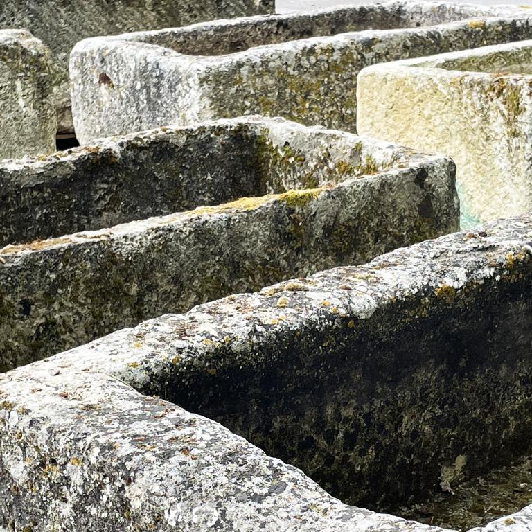 stone troughs