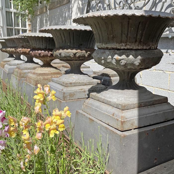 terrace urns