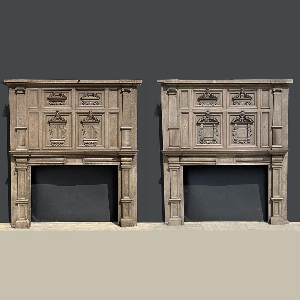 Jacobean fireplaces