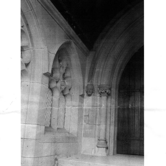 gothic stone window