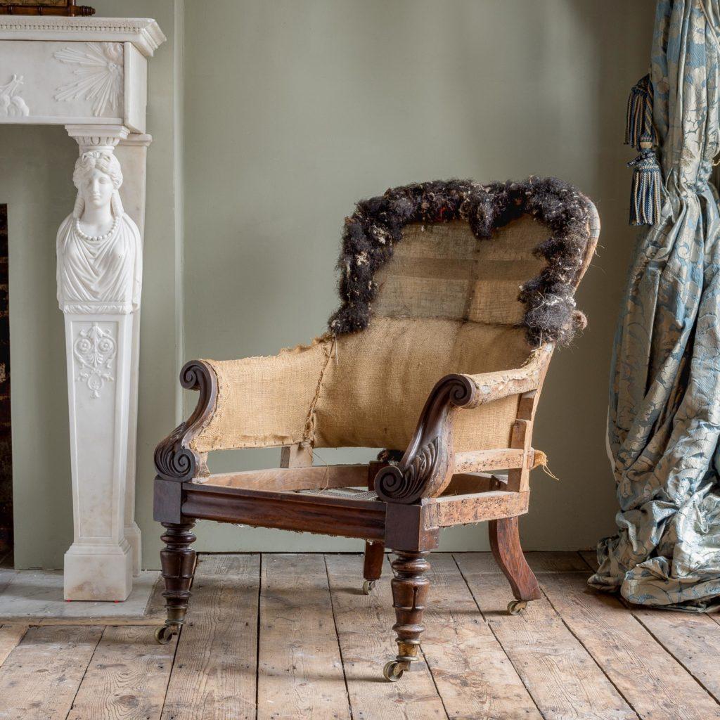 William IV armchair