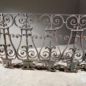 iron balustrade