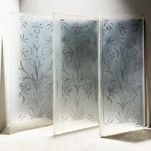 cut glass pub panels