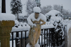 Galatea with a snow stole
