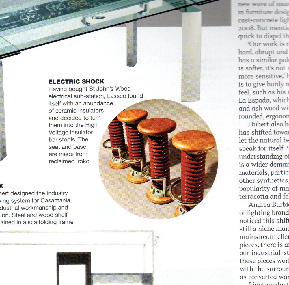 idfx features LASSCO Hi-Voltage Stools