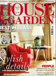 House & Garden September Cover