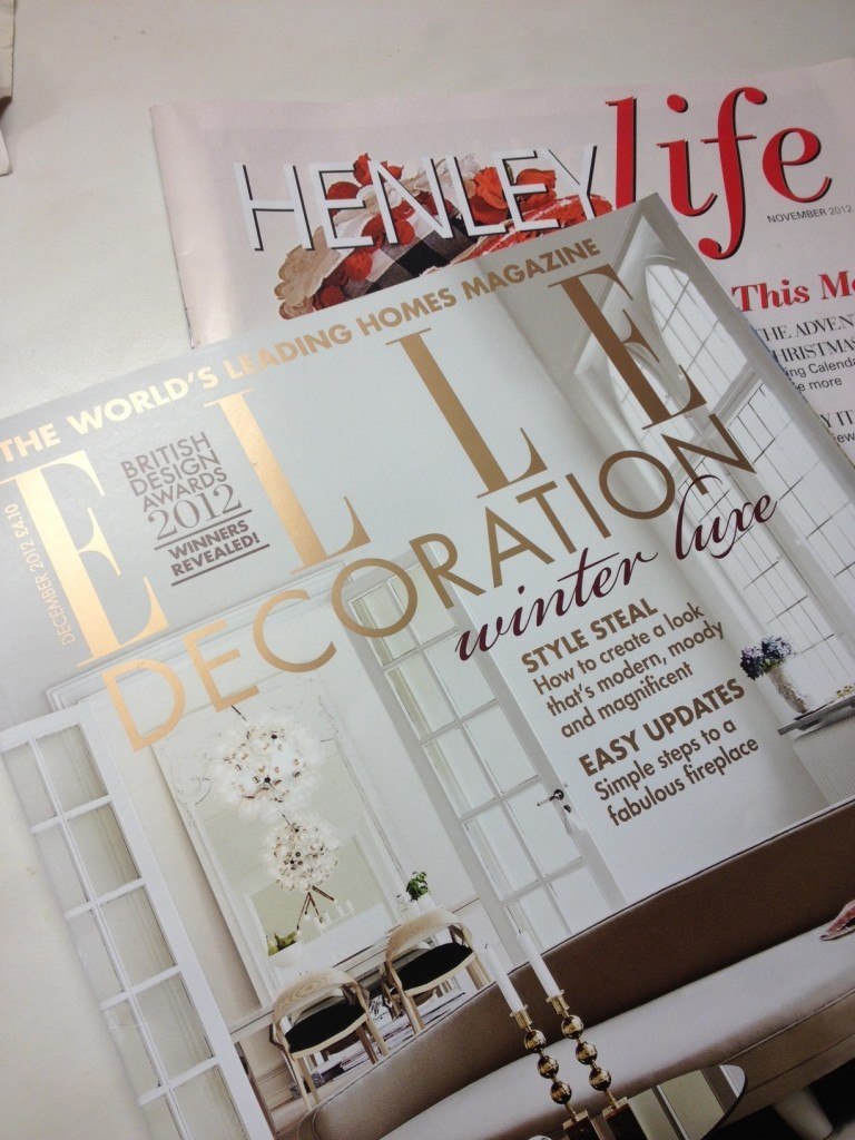 LASSCO Featured in Elle Decoration and Henley Life