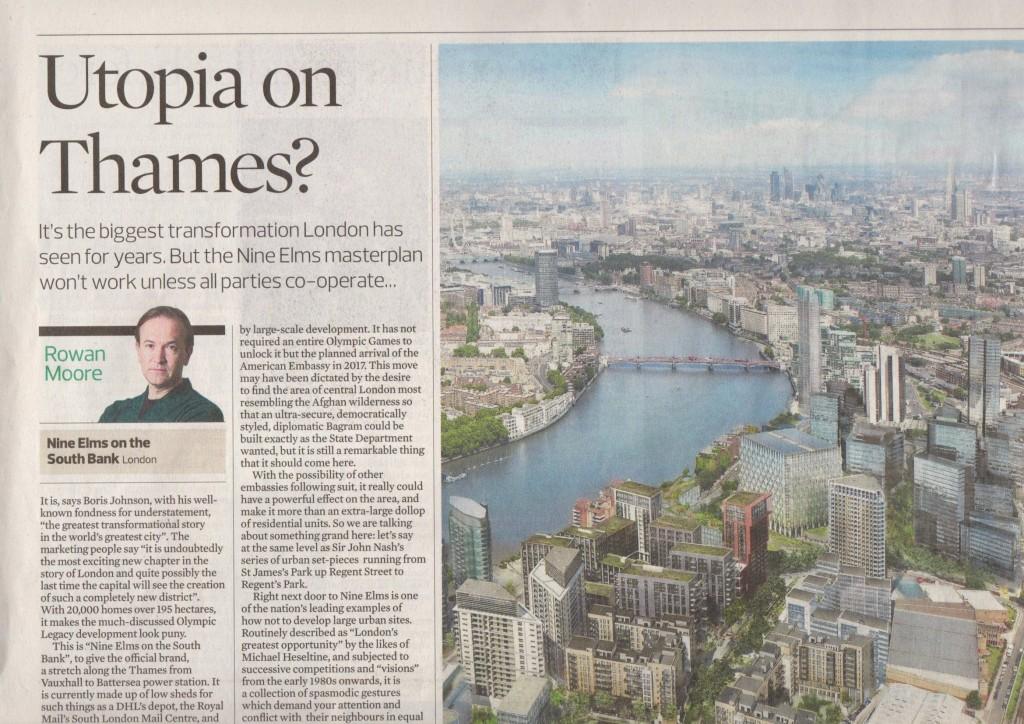 """Utopia on Thames"", Rowan Moore, Observer"