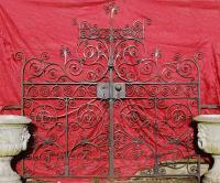 Beautiful English wrought iron gates