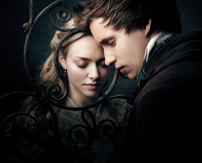 Les Miserables: Amanda Seyfried and Eddie Redmayne