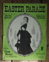 """""""Easter Parade"""" Music Sheet"""