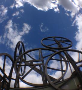 May Day Wheels at LASSCO Three Pigeons