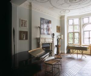 LASSCO chevron oak parquet in Jessica McCormack's Romance Room