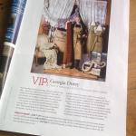 VIP Textiles at LASSCO Ropewalk, Homes & Antiques April 2014 for news