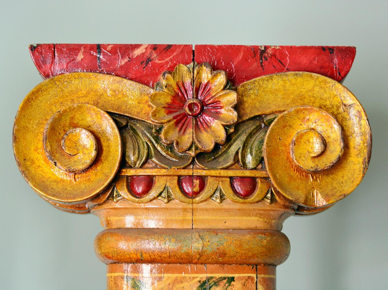 Detail of fairground column, 74677, £2950.00 at LASSCO Brunswick House