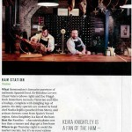 Bar Tozino in Evening Standard/Lifestyle