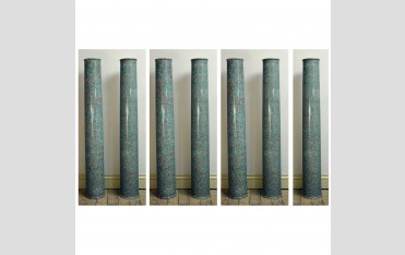 7 scagliola columns