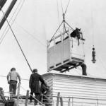 Horse lifting box