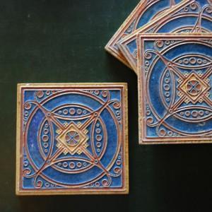 Tiles by L E F Bodart