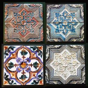 """6"""" Bodart Delft Tiles (16 shown)"""