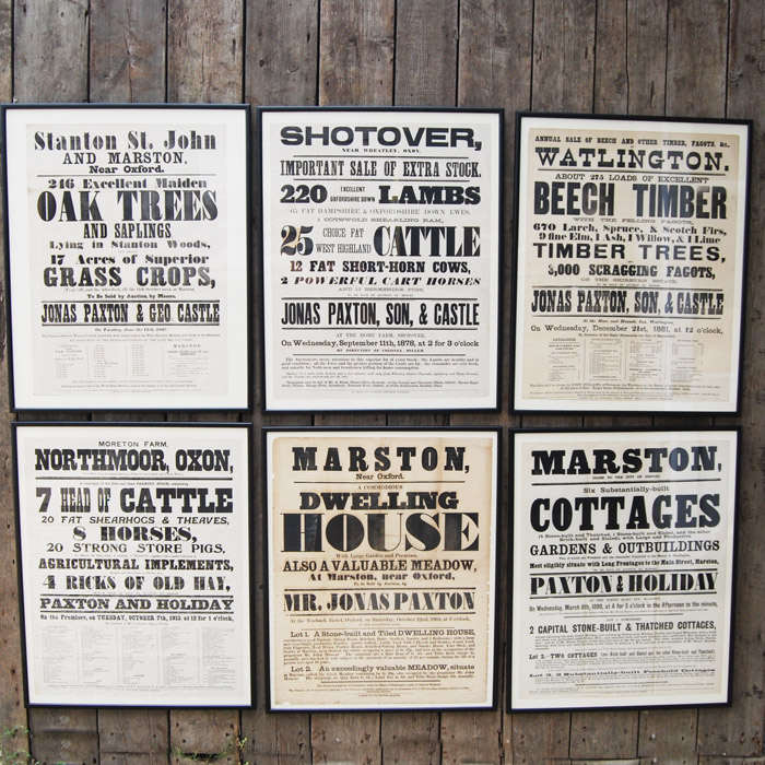 Reclamation Yards Oxfordshire: Bill Posters Will Be Prosecuted: Oxfordshire Victorian Posters