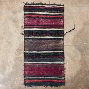 Afghan Mule Saddle Kilim Rug