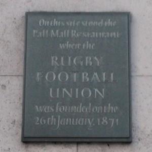 Commemorative plaque on Oceanic House