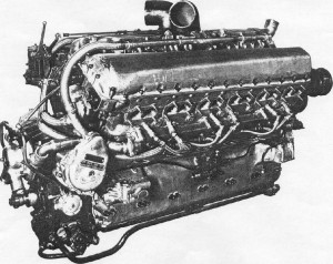 The war winning Merlin Engine.