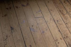 Baltic Pine Floor, Scotney Castle, Kent.